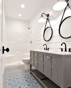 40 Amazing Country Bathroom Shelves Ideas Must Try. We all know that it's important to have good bathroom shelving, because if you don't install some good storage shelving in your . Diy Bathroom Decor, Bathroom Furniture, Small Bathroom, Bathroom Ideas, Country Bathroom Mirrors, Bathroom Updates, Ikea Bathroom, Design Bathroom, Dream Bathrooms