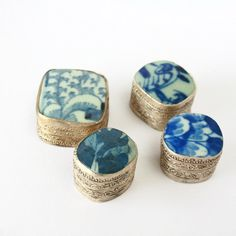 Porcelain Antique Chinese Boxprice for one by PortugueseVintage, $15.00