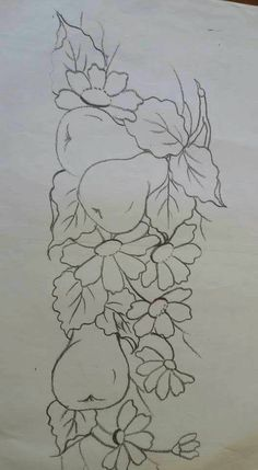 Fruit Painting, Tole Painting, Fabric Painting, Embroidery Patterns, Hand Embroidery, Coloring Books, Coloring Pages, Glass Engraving, Painting Patterns