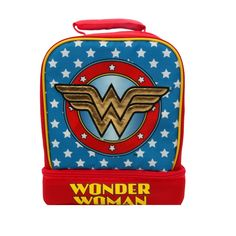 dff7209c88f7 Wonder Woman Light Up Dome Lunch Tote - Blue