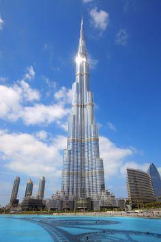 Burj Khalifa. Dubai, United Arab Emirates
