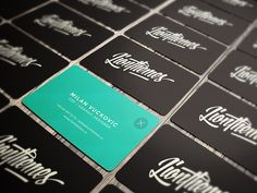 LionThemes Business Cards by Milan Vuckovic