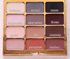 "Stila - Eyes are the window shadow palette in ""Mind"". All matte palette."