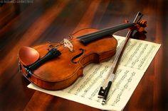 música e cordas Vetor