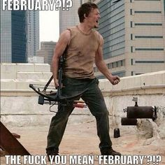 Motivational Daryl Dixon (Norman Reedus) Meme in AMC's The Walking Dead