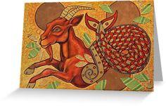 Aegipan (The Sea Goat) by Lynnette Shelley