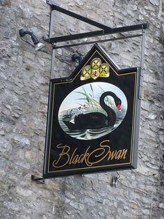 Pub Sign - Black Swan, Kendal 130224