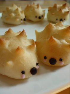 Hedgehog buns