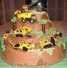 Construction Cakes for Boys | Postado por Viviane Meyer às 11:31