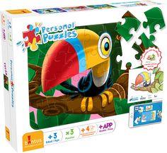 """Te presentamos a uno de los cuatro modelos disponibles de los nuevos """"Personal Puzzles""""! No te los pierdas en tu juguetería preferida ;)"""