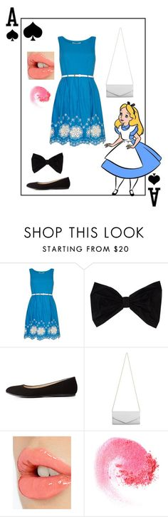 """Alice..."" by chrisantal ❤ liked on Polyvore featuring Yumi, PINK BOW, Charlotte Russe, Akira, Charlotte Tilbury, NARS Cosmetics, women's clothing, women's fashion, women and female"