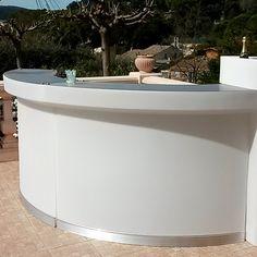 bar résine Calipso mobile, bar design, bar modulaire