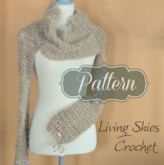Gwendolyn Cowl #Crochet Pattern for sale by LivingSkiesCrochet on Etsy
