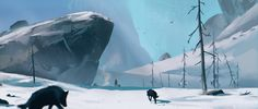 "ArtStation - ""The long dark"" fan art, Andrei Kotnev"