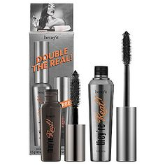 Benefit Cosmetics Double The Real -- Find out more about the great product at the image link. (This is an affiliate link) #EyeMakeup
