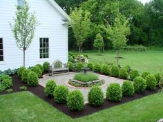 Fresh and beautiful front yard lanscaping ideas (7)