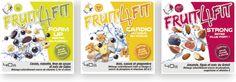 Fruit4Fit - 3 gammes de snacks naturellement sains