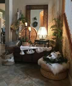 Little Brags: Christmas Snap Shots Around The House Interior Design Living Room, Living Room Decor, Bedroom Decor, Kitchen Interior, Deco Nature, Deco Boheme, Moroccan Interiors, Small Room Bedroom, Sustainable Design