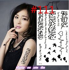 G-ART : Temporary Tattoo Sticker Beard Pattern Waterproof Temporary Tattooing Paper Body Art Temporary Tattoos Beautiful Stickers. Type:Temporary Tattoo. ::. Model Number:Body art. size:10*15cm. Unit Type:piece.