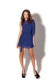 Cascade Blue Dress LIMITED by Black Milk Clothing