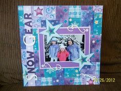 Snow Gear - Club CK - The Online Community and Scrapbook Club from Creating Keepsakes