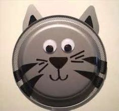 Image Search Results for paper plate cat craft : cat paper plate craft - Pezcame.Com