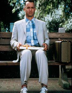 49 films à voir absolument une fois dans sa vie - Elle Forrest Gump Costume, Tom Hanks Forrest Gump, Forrest Gump Quotes, Forrest Gump Movie, Iconic Movies, Iconic Characters, Old Movies, Vintage Movies, Brad Paisley