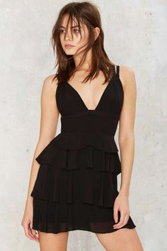 Nasty Gal Driven to Tiers Mini Dress | Shop Clothes at Nasty Gal!