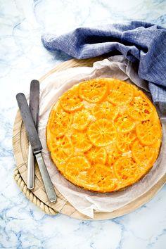 upside down clementine cake - torta rovesciata di clementine