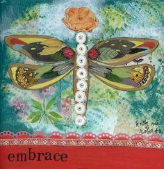 """Embrace"" Artist: Kelly Rae Roberts"