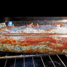 Moosewood spinach lasagna