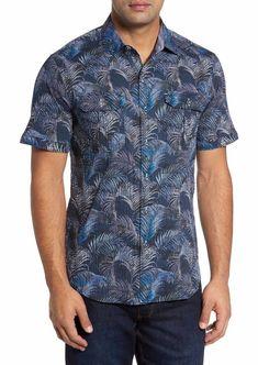 840878f1 Tommy Bahama Fez Fronds Maritime Camp Shirt Mens Size XL NWT $135 #fashion  #clothing