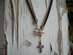 Mens  Leather Necklace  Double Strand by UrbanSurvivalGearUSA, $18.99