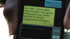 A la caza de medicamentos falsos por mensaje de texto