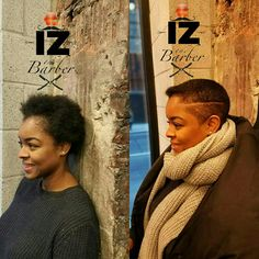 Transformation Mondays, had the honor of changing her style of cut. And tomorrow my people's @zoefennesz will be giving her a whole new color to really change her look #IZTHEBARBER #garmentdistrict #heraldsquare #soho #barber #manhattan #NYC #nystateofmind #bronx #downtown #shaves #style #fashion #mensfashion #city #hair #hairstyle #focused #hair4life #mensstyle #menshair #menshaircut #customfade #custom #customers #Wallstreet #women #womenfashion #womenhaircut #style