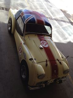 1957 Triumph TR3 Mille Miglia rally racer roof