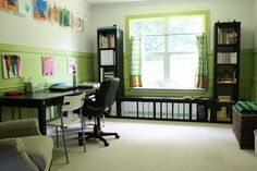 School room organization--This site also has tons of ideas for Classical Homeschooling