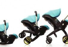 Doona: This Infant Car Seat Folds Out Into A Functional Stroller
