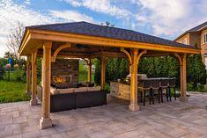 gazebo pictures   Gazebo Pictures - Paradise Decks and Landscape Design