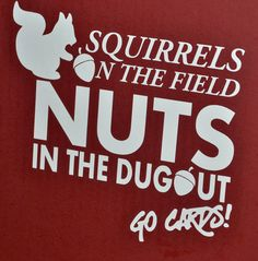 St Louis Cardinals Rally Squirrel.
