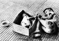 Washington: In 1973 photographer Chick Harrity snapped one of the Vietnam War's most memorable images. It showed a baby girl, named Tran Thie Het Nhanny, lying in a cardboard box next to her brother, who begged on the streets of Saigon.