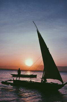 Sunset @ Zanzibar, Tanzania