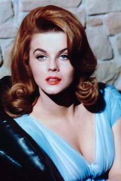 Ann-Margret 1967 studio portrait with red hair 24X36 Poster