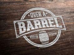 Over A Barrel Logo by Kristian Grljević