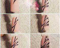 Astonishing Nail Art Tutorials Ideas Just For - The most beautiful nail designs Toe Nail Art, Nail Art Diy, Easy Nail Art, Diy Nails, Nail Nail, Great Nails, Simple Nails, Cute Nails, Tattoo Pink