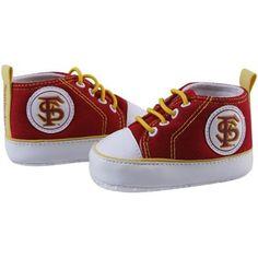 Florida State Seminoles (FSU) Infant Garnet Crawler Sneakers