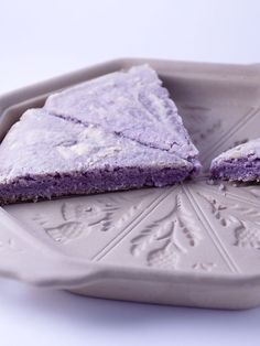 Lavender Shortbread. Mercy!