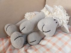 pattern: http://www.ravelry.com/patterns/library/elton-the-sheep---amigurumi-pattern