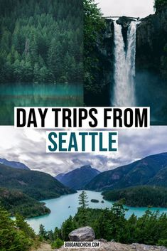 Day Trips From Seattle, Seattle Travel Guide, Seattle Vacation, Seattle To Do, Seattle Places To Visit, Visiting Seattle, Seattle Winter, Things To Do Seattle, Leavenworth Washington