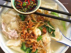 Nasi Lemak Lover: Mee Hoon Kueh (Hand-pulled noodles) 麵粉粿